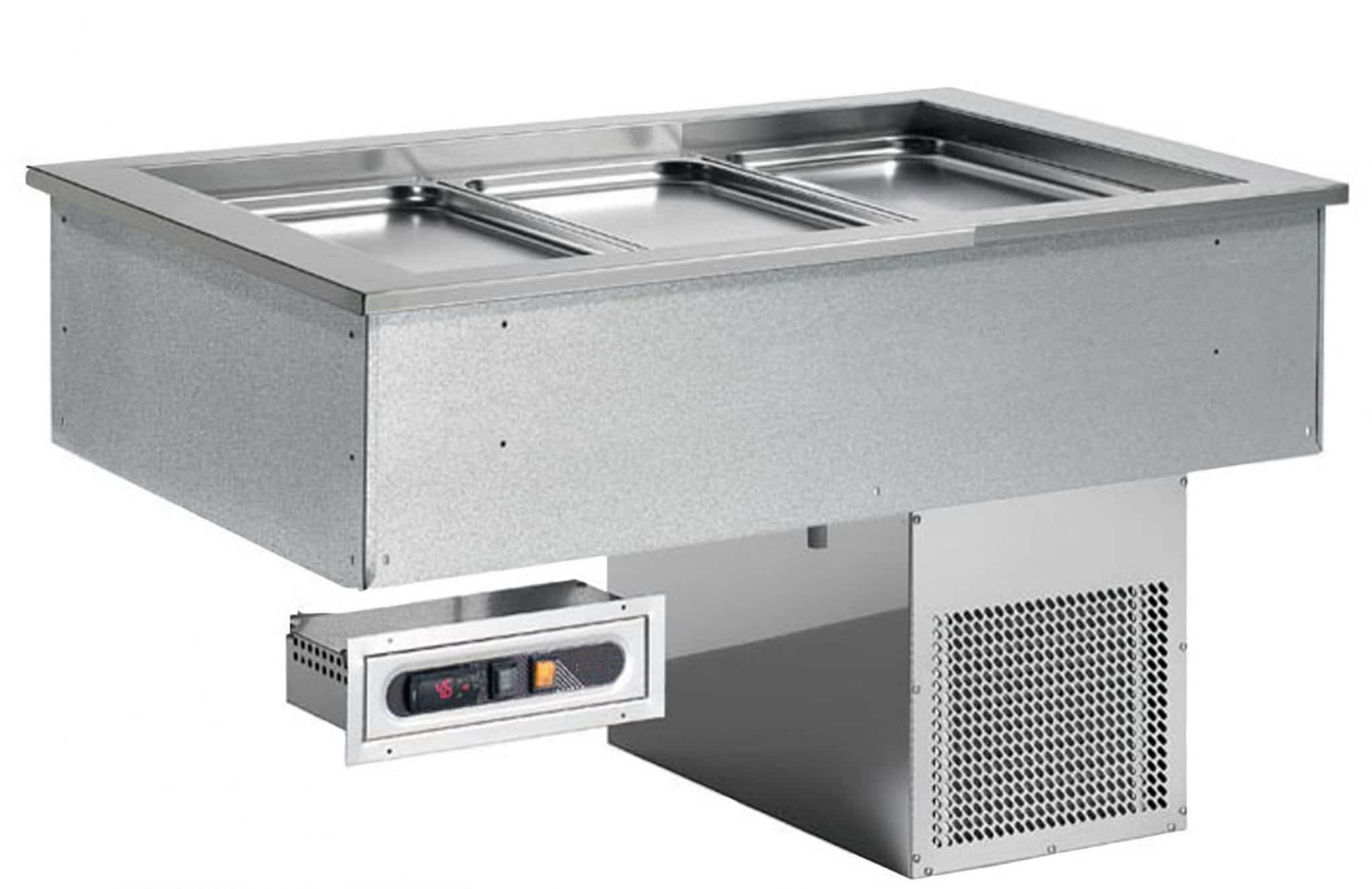 buffet chaud à encastrer 3GN