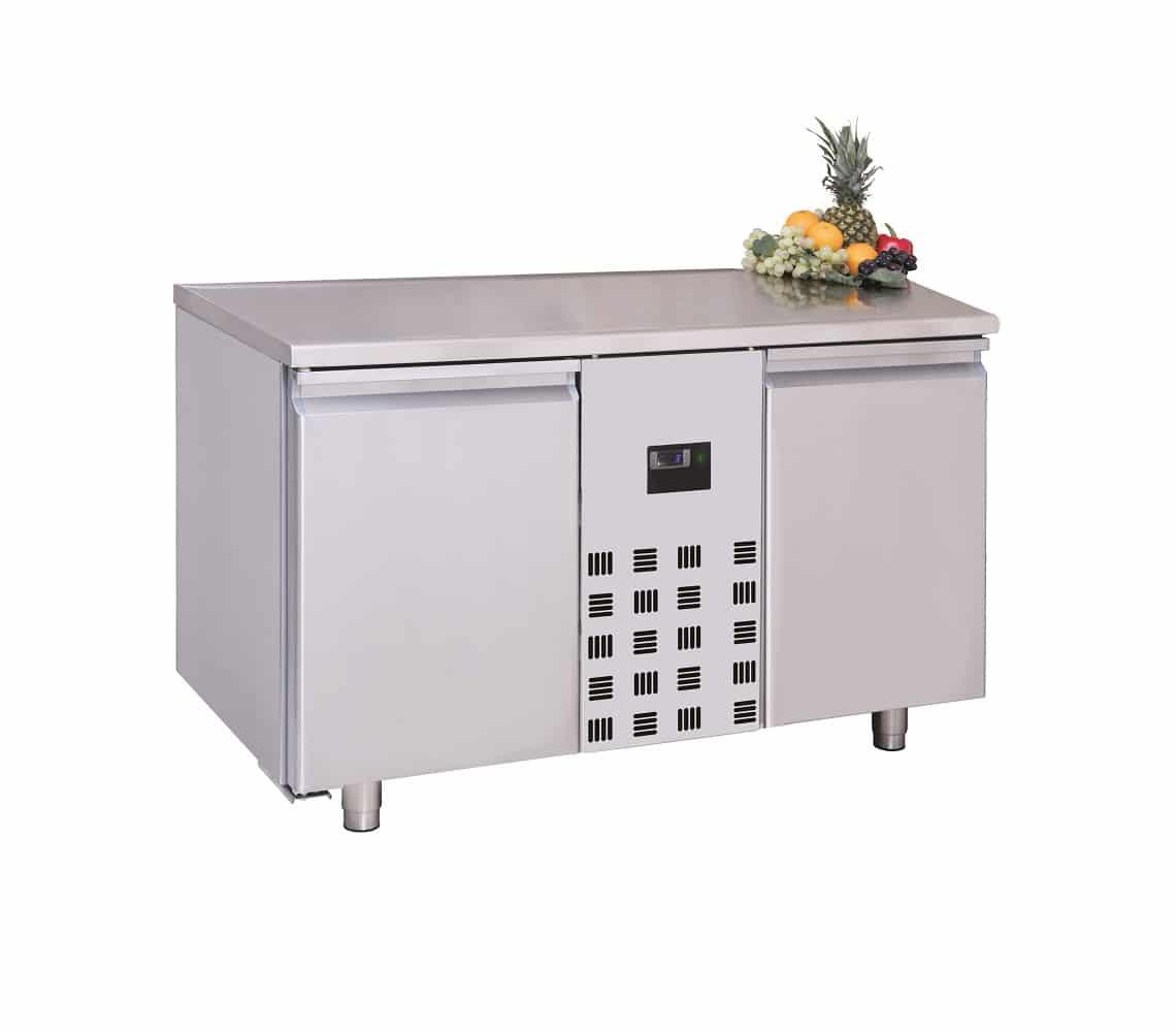 table réfrigéré avec 2 portes