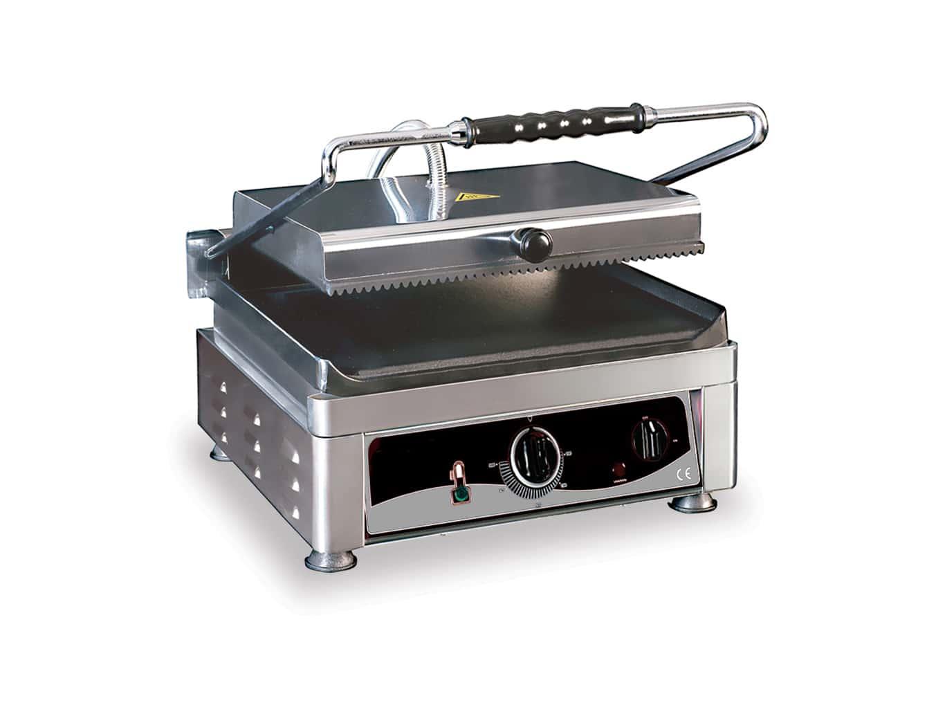 grill pour aliments nervurée